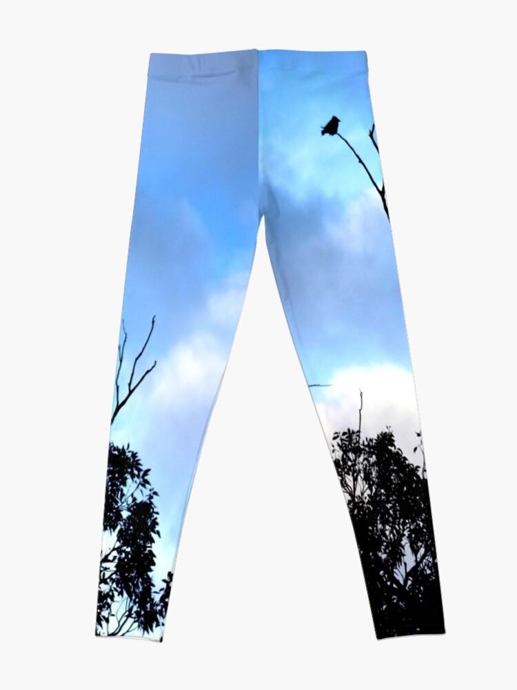 Alternate view of Birds Tree Sky Leggings