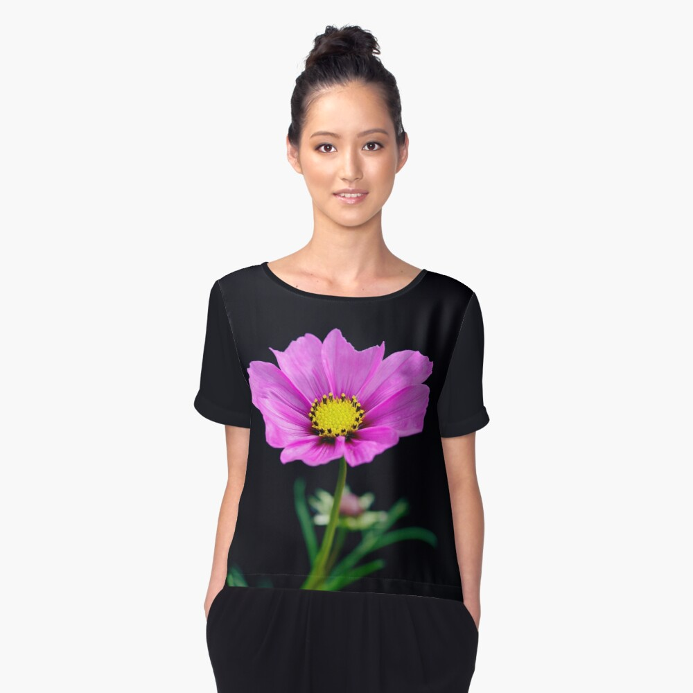 Happy Birthday to Me Women's Chiffon Top Front