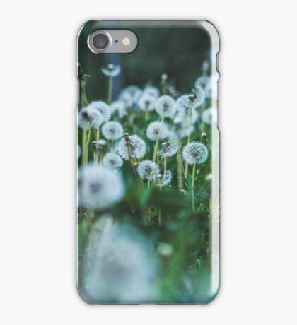 dusky dandelions iPhone Case/Skin