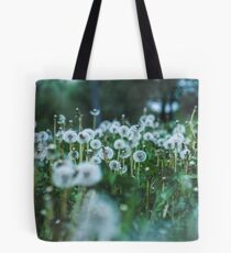 dusky dandelions Tote Bag
