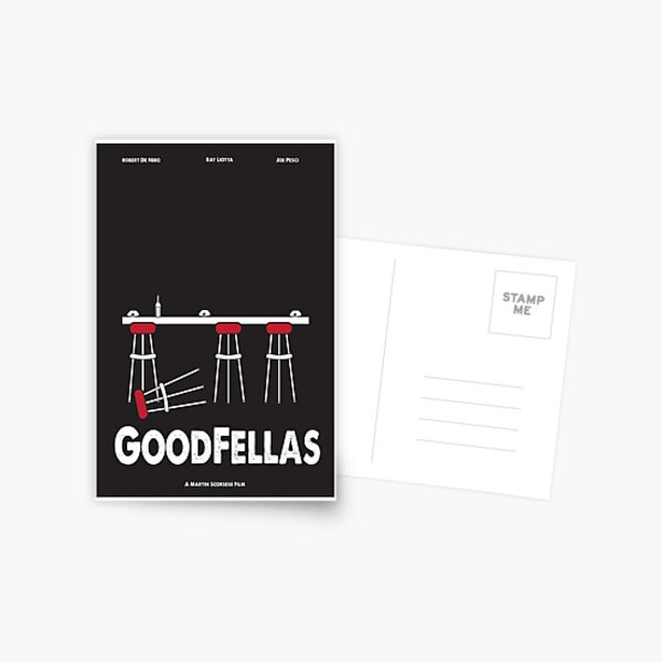 Goodfellas Postcard