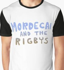 Mordecai and the Rigbys Graphic T-Shirt