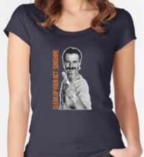 Begbie - Clean up your act, Sunshine. Women's Fitted Scoop T-Shirt