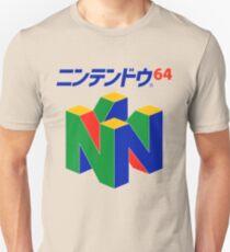 Camiseta unisex Japonés Nintendo 64