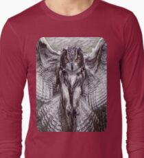 My Creative Design of an OwL Attacking T-Shirt