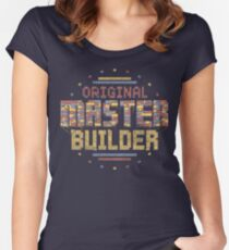 Original Master Builder Women's Fitted Scoop T-Shirt