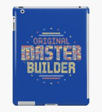 Original Master Builder iPad Case/Skin