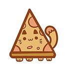 Delicious Pizzacat! by vannesaco