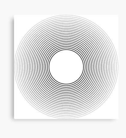 Circle blend Canvas Print