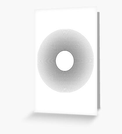 Circle blend Greeting Card