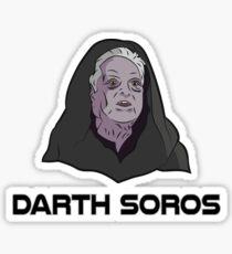 Darth Soros Sticker