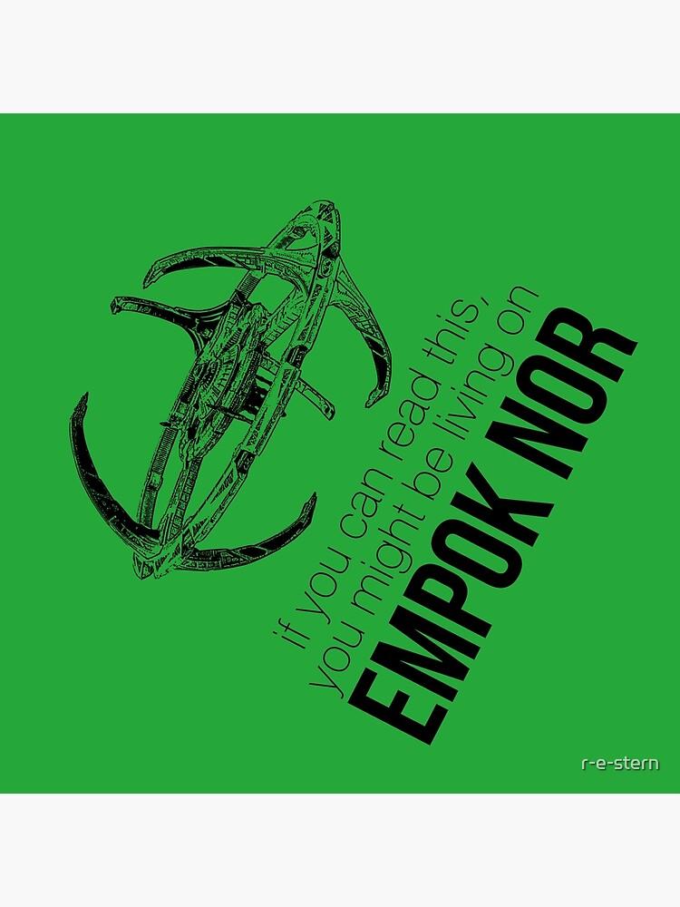 Podrías estar en Empok Nor - DS9 Tee de r-e-stern