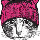 Pussyhat Protest Shirt - Women's March Pussycat Pink Hat Shirt by StayNasty