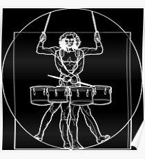 Vitruvian Tenor Drummer Poster