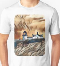 My Design of a Stormy Lighthouse T-Shirt