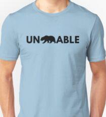 Unbearable - Funny Bear Pun T-Shirt
