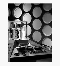 First Doctor's TARDIS Photographic Print