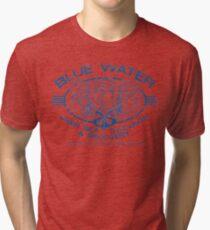 Blue Water Deep Sea Salvage Tri-blend T-Shirt