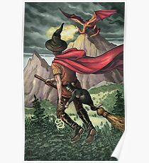 Everyday Witch Tarot - Knight of Wands Poster
