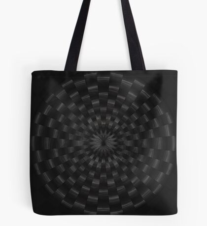 Circular Gray by Julie Everhart Tote Bag