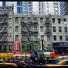 Third Avenue Rush Hour by steeber