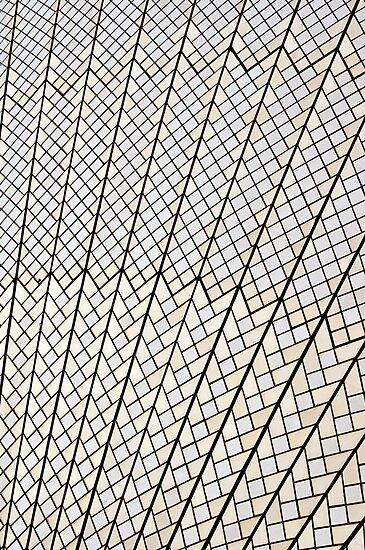 Sydney Opera House : It's Tile-istic by TonyCrehan