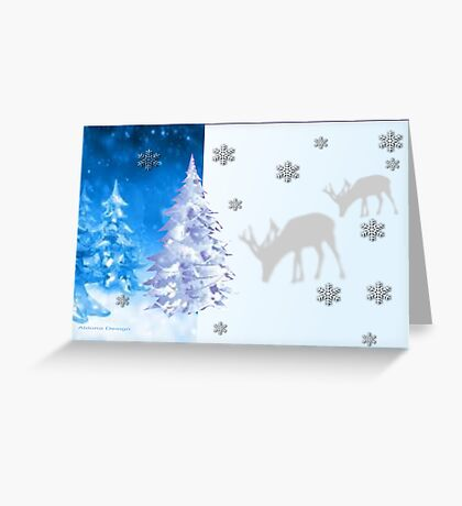 A blue Christmas on all products (5418 Views) Greeting Card
