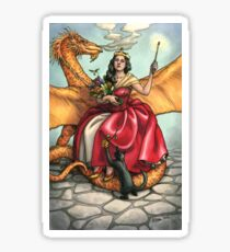Everyday Witch Tarot - Queen of Wands Sticker