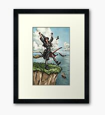 Everyday Witch Tarot - The Fool Framed Print