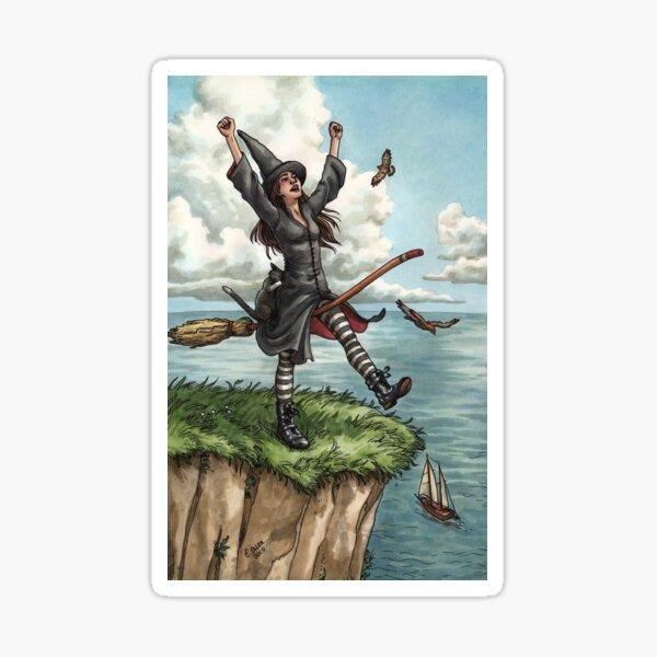 Everyday Witch Tarot - The Fool Sticker