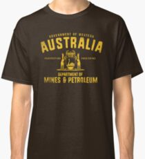 Government of Western Australia Dept of Mines and Petroleum Classic T-Shirt