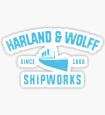 Harland and Wolff Sticker