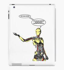 Cyborg Star Wars Parody iPad Case/Skin