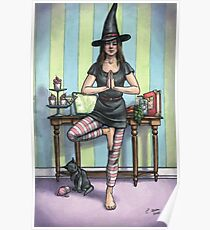 Everyday Witch Tarot - Temperance Poster