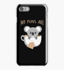 I Love My Koala and They Are Tea iPhone Case/Skin