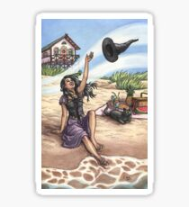Everyday Witch Tarot - The World Sticker