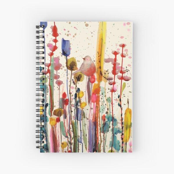 ce doux matin Spiral Notebook