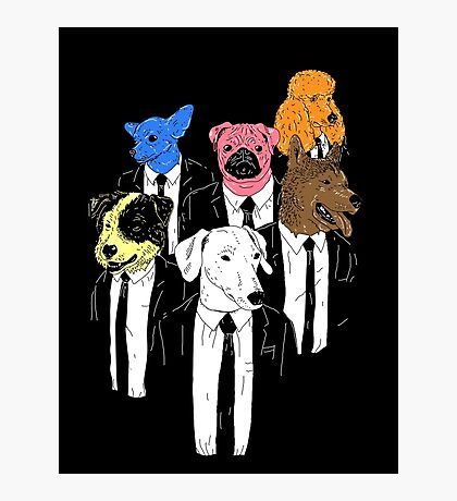 Real Reservoir Dogs Photographic Print