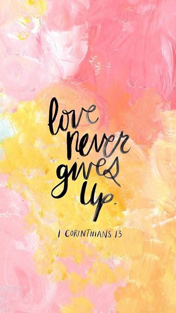 Corinthians 13 by wtvrcait