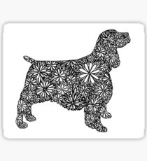 English Springer Spaniel- Part of the Doodle Dog Collection Sticker