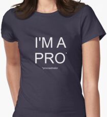 Funny Procrastination T-Shirt Women's Fitted T-Shirt