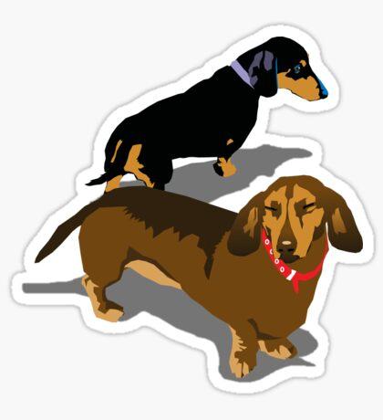 Dachshunds Sticker