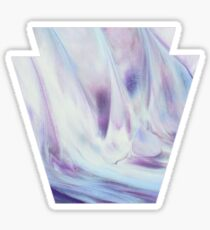 Pennsylvania Keystone Marble Paint Sticker