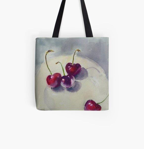 New season cherries All Over Print Tote Bag