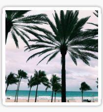 Ft. Lauderdale beach, Florida  Sticker