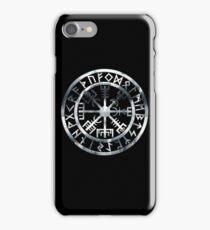 Vegvísir (Icelandic 'sign post') Symbol - BLEAK iPhone Case/Skin