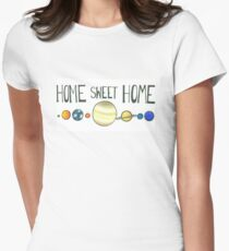 Home Sweet Home! Womens Fitted T-Shirt