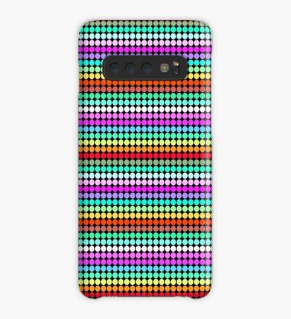 Stripey Polka dots 001 Case/Skin for Samsung Galaxy