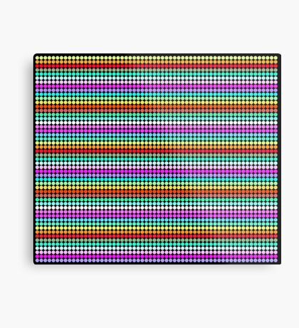 Stripey Polka dots 001 Metal Print