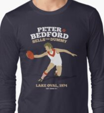 Peter Bedford, South Melbourne (for dark shirts only) Long Sleeve T-Shirt